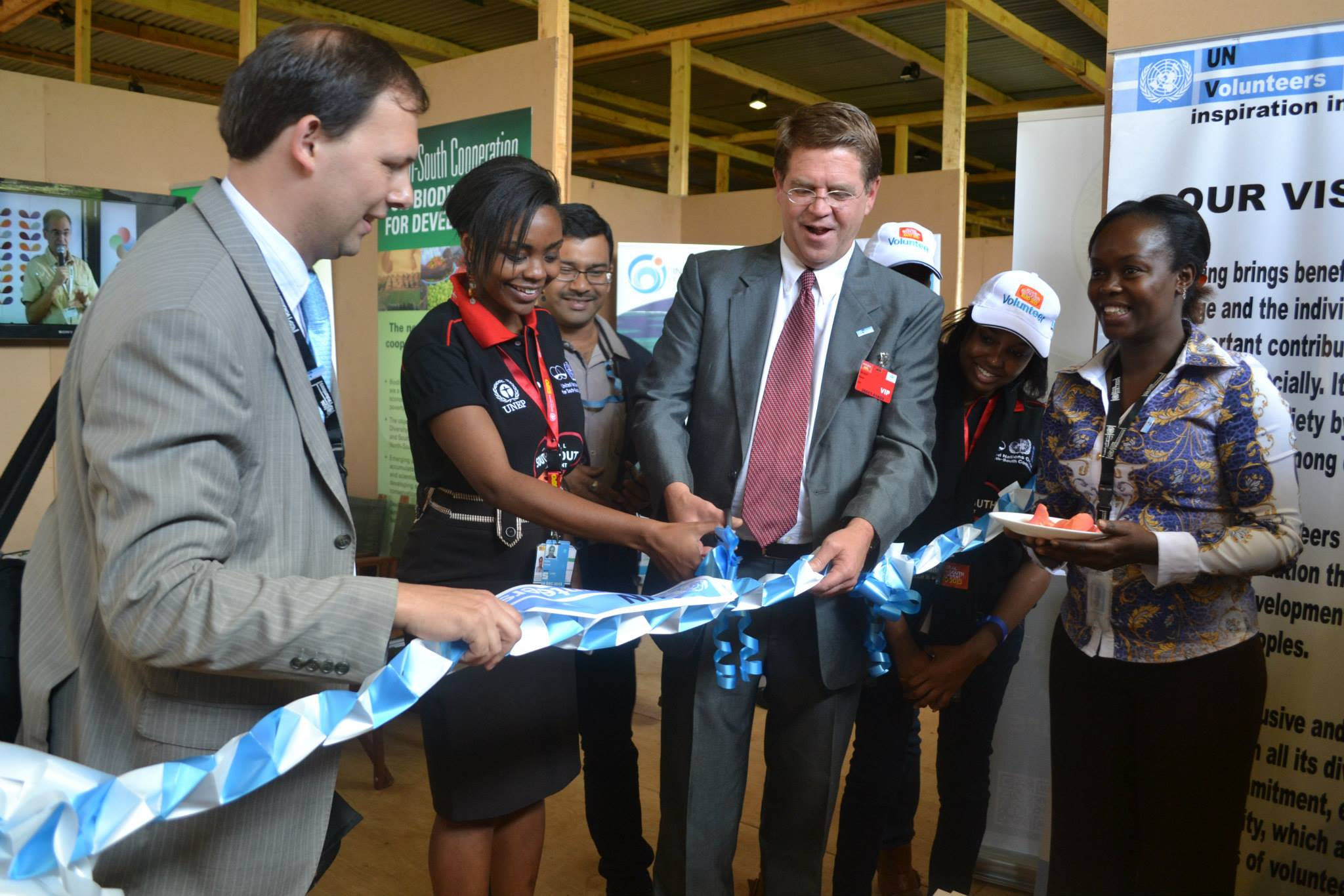 Exhibition Booths Kenya : Youth volunteerism to boost global south development