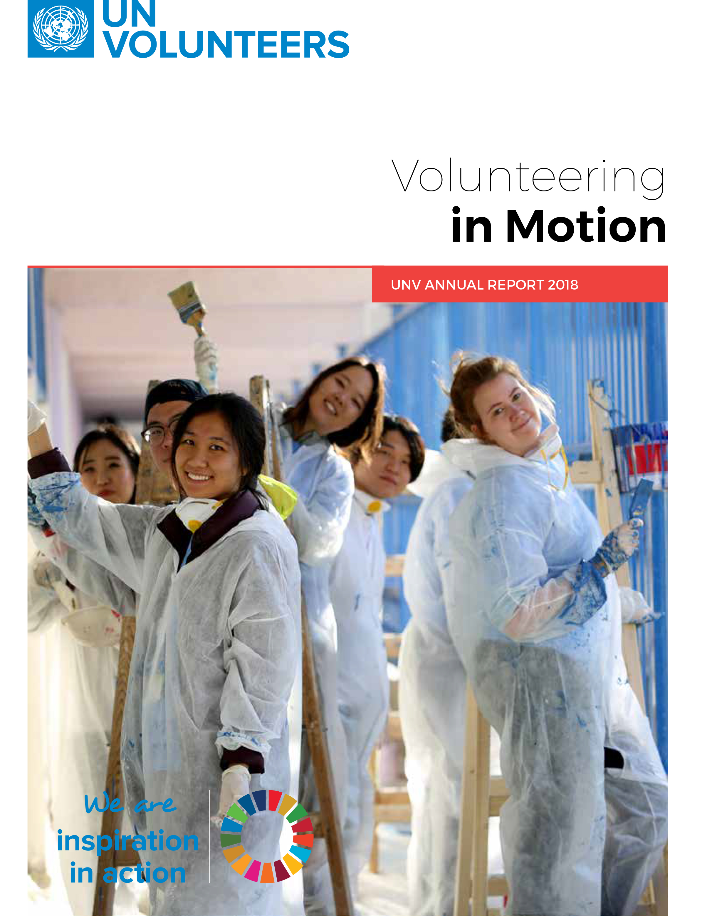 UNV Annual Report 2018: Volunteering in Motion