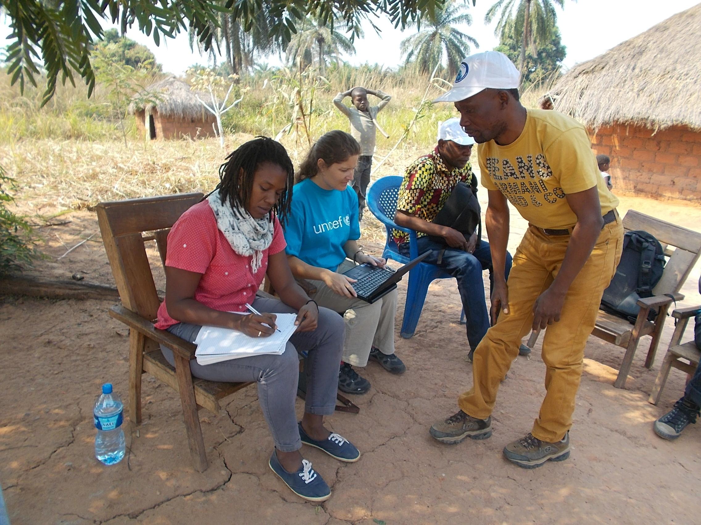 Axelle fidelin jeune volontaire de lonu coordinatrice à unicef unv