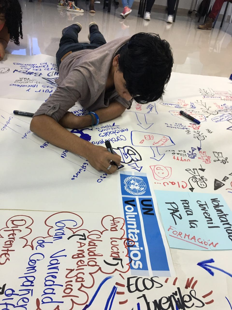 Volunteering for Peace: Empowering young volunteers as actors for