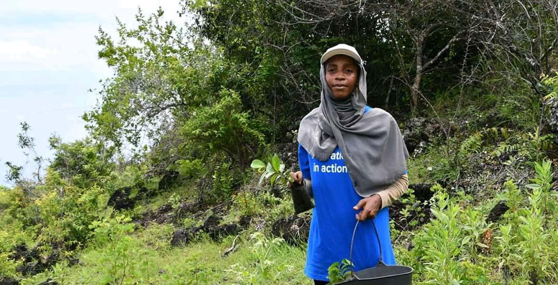 Houda Abdoulbastoi, UN Volunteer Technical Advisor, UNDP Comoros