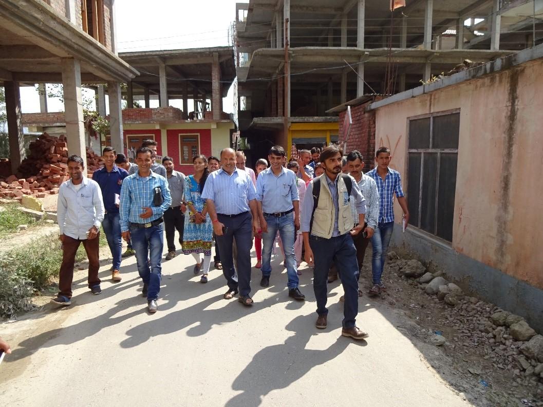 DRR India UN Volunteers