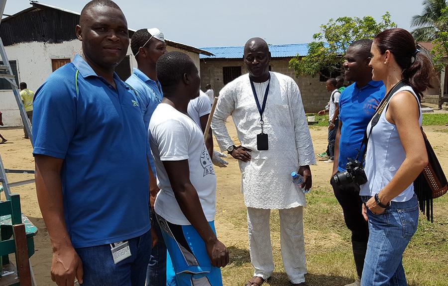 Henry Tambade UNV Liberia
