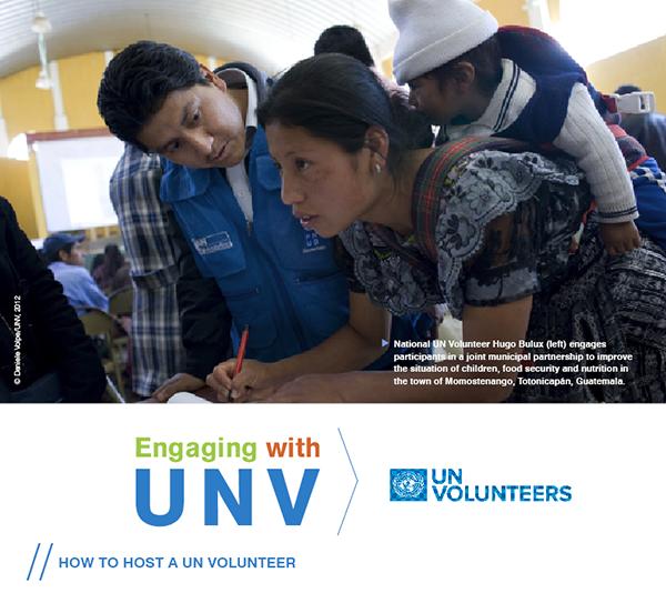 How to host a UN Volunteer