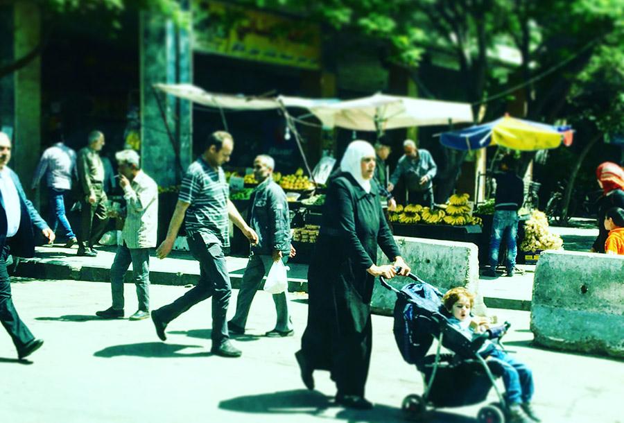 Syria Damascus UNV