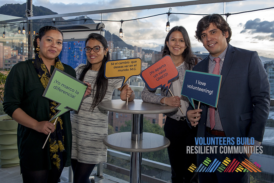 UN Volunteers in Colombia celebrate their passion for volunteering and contribution to peace and development in the country.