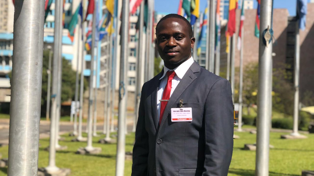 Clinton Omusula serves as a national UN Volunteer with UN-Habitat, working on country-level land data generation and reporting initiatives to enable development of evidence-based policies on land governance issues.