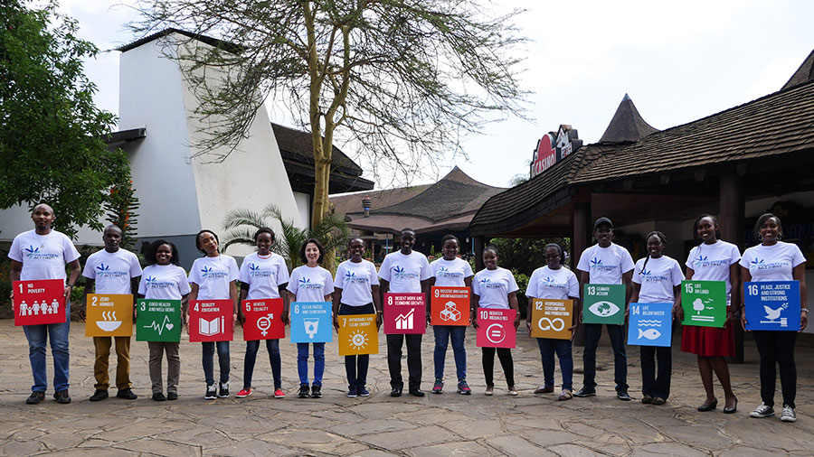 UN Volunteers raise awareness of the Sustainable Development Goals, and engage people at the grassroots level in development and peace, so that no one is left behind.