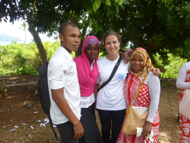 Manon Cabaup UN Youth Volunteer in Comoros