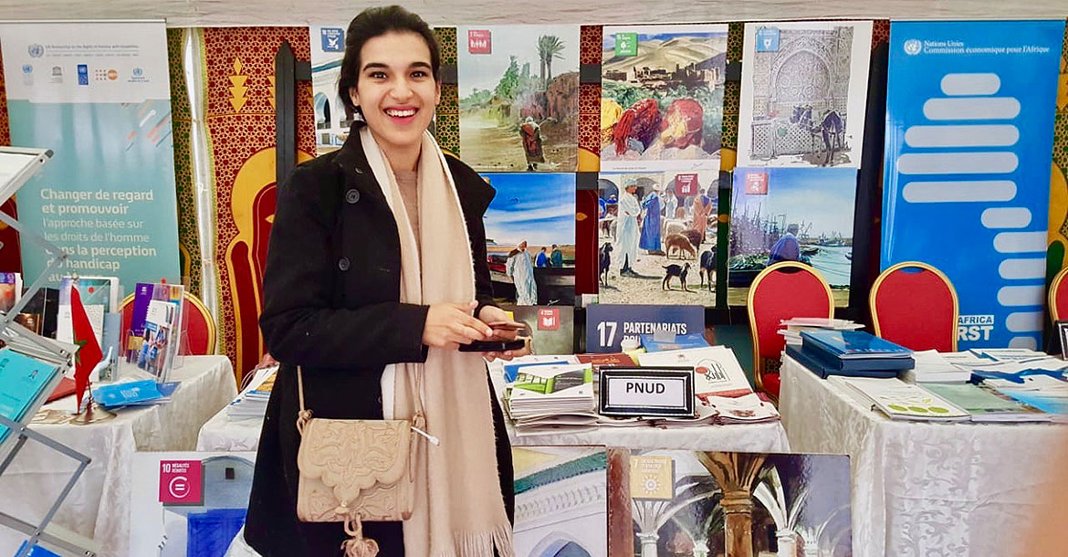 Oumayma Raimi-Rodè served as a national UN Volunteer Associate Programme Manager in Democratic Governance with the United Nations Development Programme (UNDP) in Morocco. She is currently Head of Experimentation with UNDP Morocco.