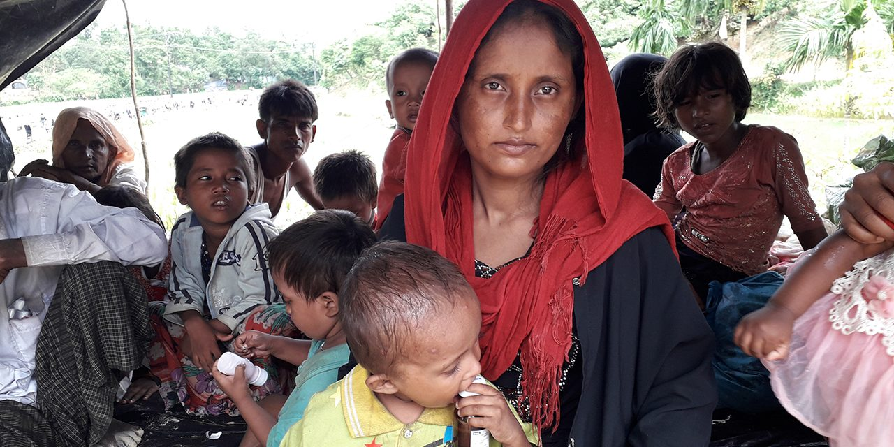 Rohingyas in Bangladesh (2017).