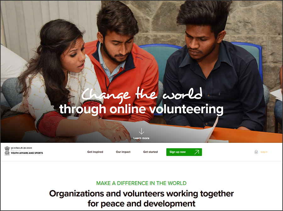India UNV Online Volunteering