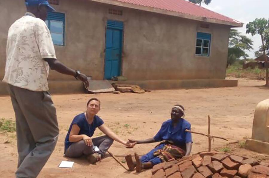 UNV South Sudan Leni