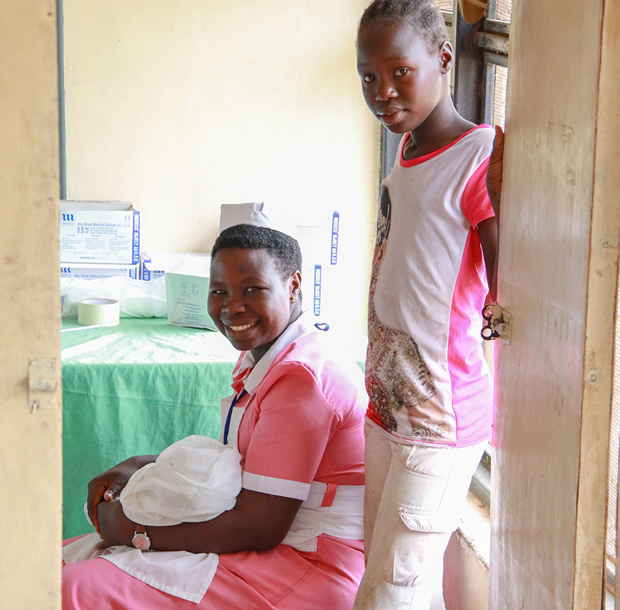 UN Volunteer Midwives and other UN Volunteers in medical professions provide critical support in South Sudan to build capacity and fill the gaps in facilitating access to quality health services.