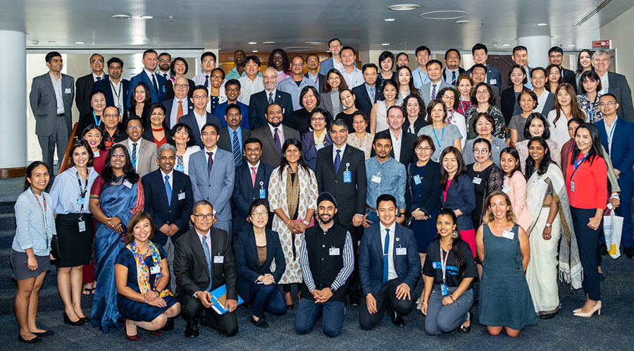 The regional consultation brought together 77 delegates from Asia and the Pacific region to discuss the future of volunteerism for the achievement of the Sustainable Development Goals.