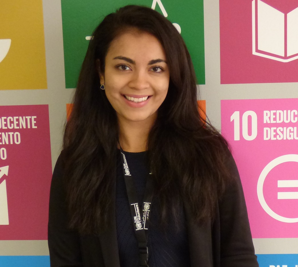 Isabela Barriga is a Communications Intern with UNV in Ecuador.