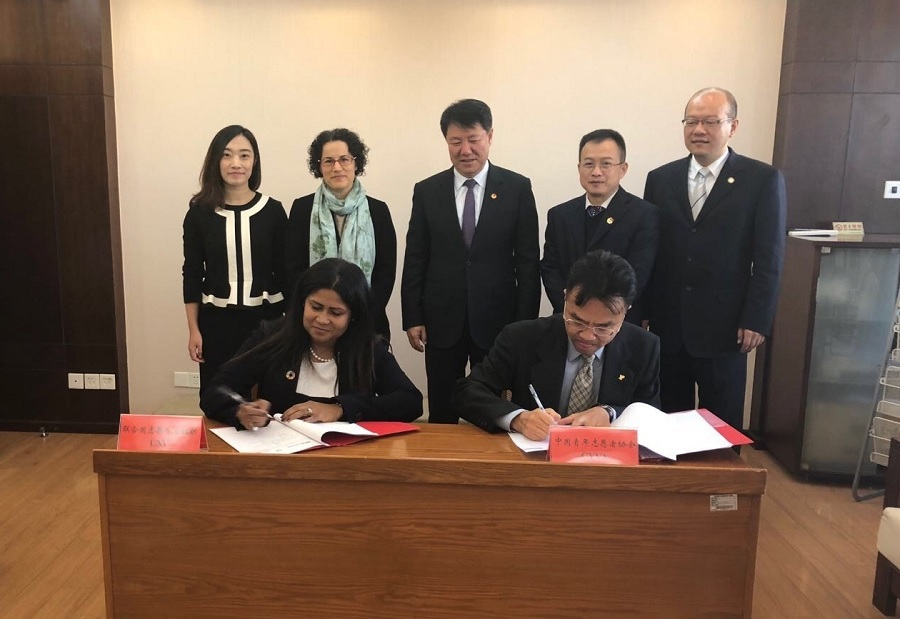 UNV and CYVA signed their first MOU