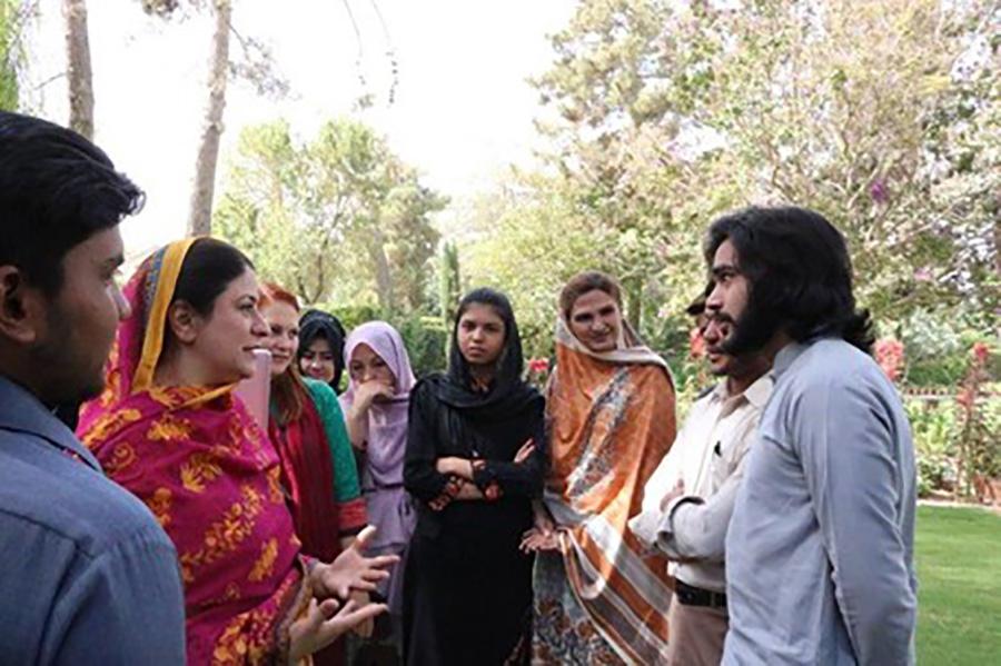 UNV Community Radio Project in Pakistan