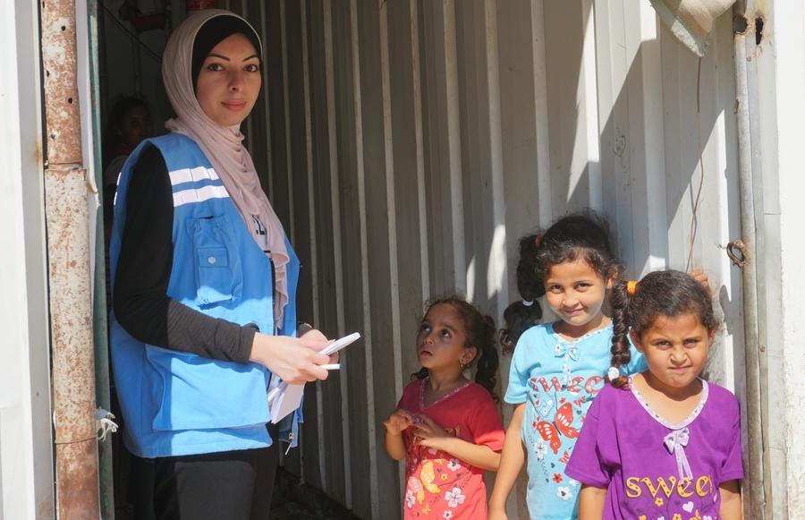 UN Volunteer Alaa Abu Ramadan