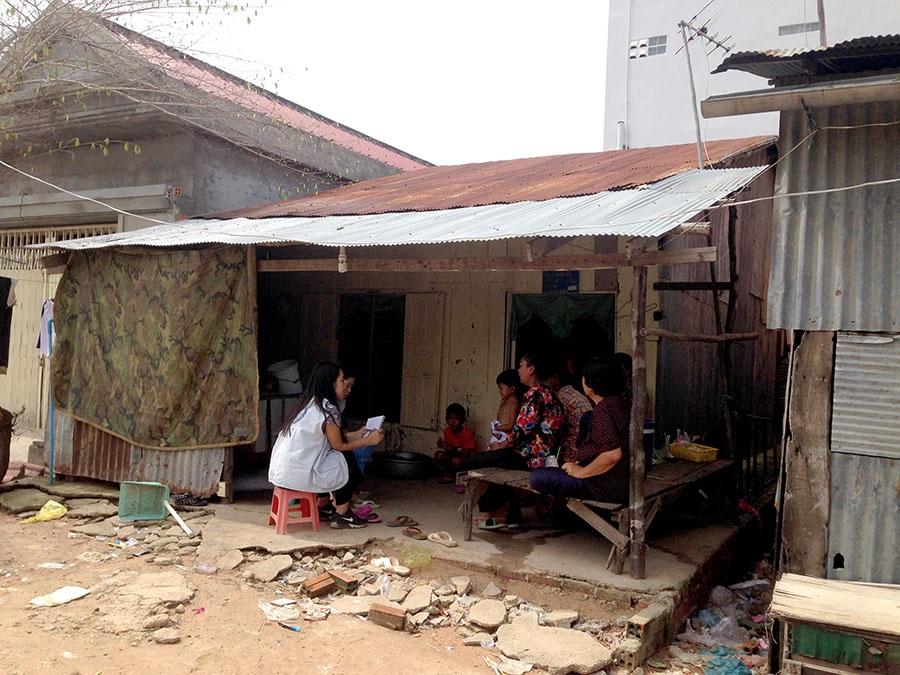 Yura Bak in Cambodia
