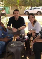 Sachiyo Miwa (Japan) served a UN Volunteer Associate Humanitarian Officer with OCHA in Sudan.