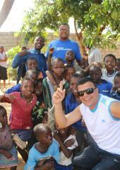 UN Volunteers in Malawi at International Volunteer Day 2017.