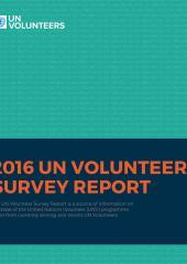 UN Volunteer Survey Report 2016