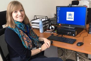 Holly Langham serves as a UN Volunteer Associate External Relations Officer with UNHCR in Albania supporting refugees and asylum seekers in the COVID-19 context.
