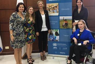 Olga Altman serves as a UN Volunteer for Inclusion, Innovation and the 2030 Agenda with the United Nations Development Programme (UNDP). She is part of the UNDP/UNV Talent Programme for Young Professionals with Disabilities.