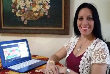 Emperatriz Nieves de Bustamante (Venezuela) volunteers with the Organzación SenosAyuda (Breast Cancer prevention) and is a UN Online Volunteer.