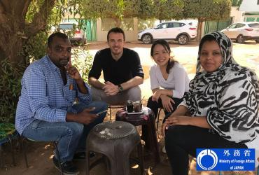 Sachiyo Miwa (Japan) served a UN Volunteer Associate Humanitarian Officer with OCHA in Sudan.
