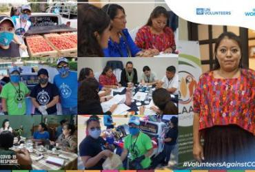 Ingrid Sierra, indigenous UN Volunteer serving with UN Women in Guatemala.