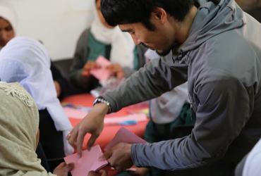 Enhancing social cohesion among Syrian refugees in Jordan.