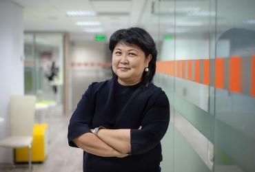 Ulziisuren Jamsran, Representative of UN Women in Kyrgyzstan, served as a UN Volunteer at the start of her career.