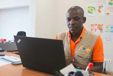 Matecue Tendai, a national UN Volunteer with the United Nations Population Fund (UNFPA), supported emergency response operations after Mozambique was hit by to cyclones in succession.