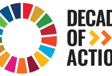 SDG Decade of Action logo