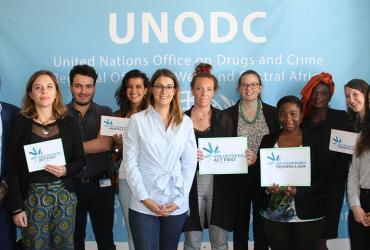 UNV photo in UNODC Regional Office