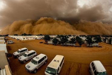 sand storm unamid unv