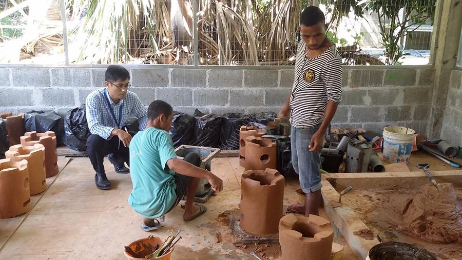 UNV Timor Leste 2017 cook stoves